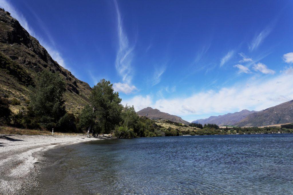 le Lac Wanaka nouvelle-zélande