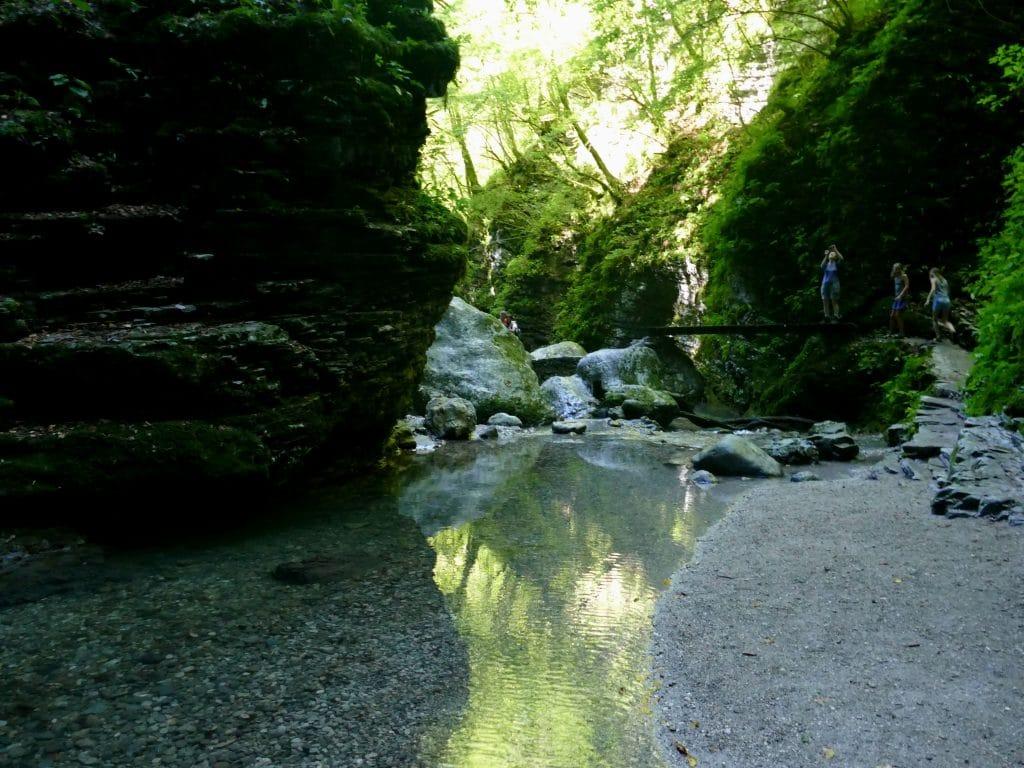 Balade vers la cascade de Kozjak