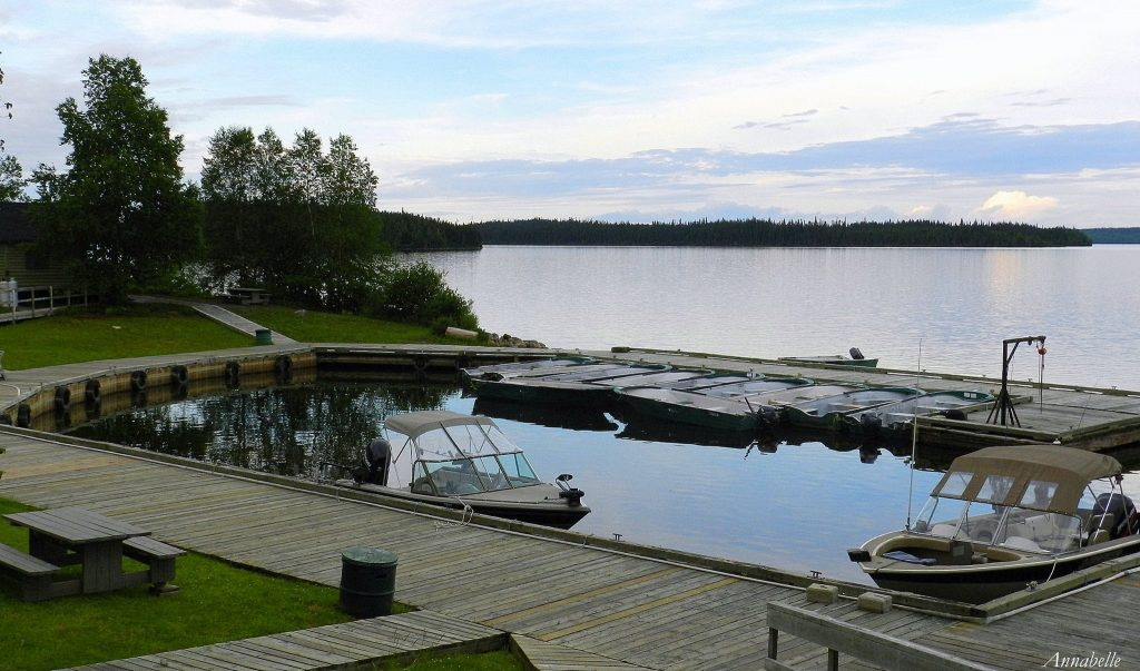Les installations du Lac Waconichi