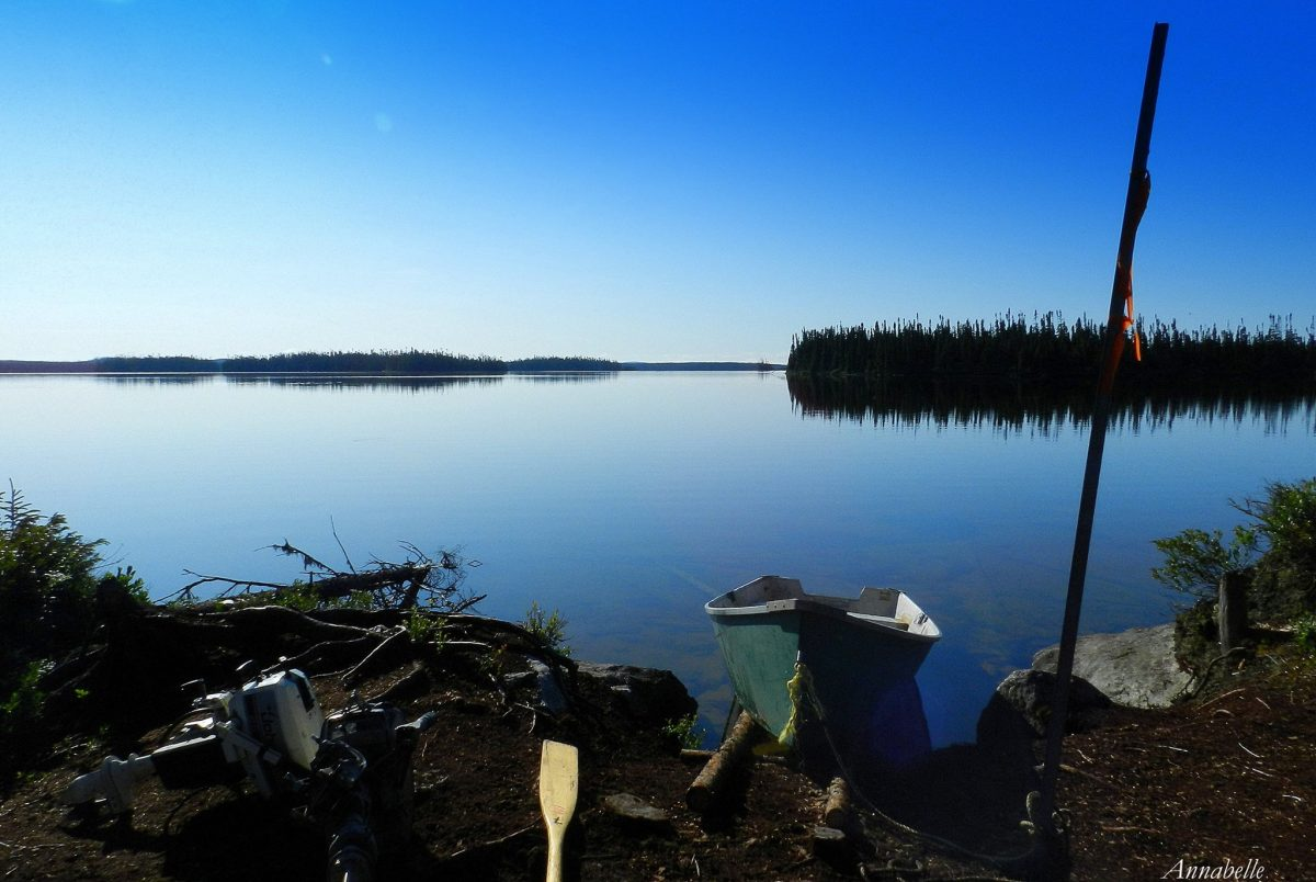Pêche au lac Lemieux