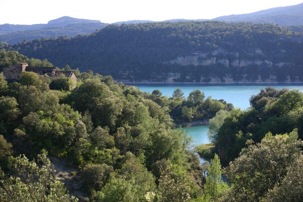 Pêche en Aragon : Aldea de Puy de Cinca - Pantano de El Grado