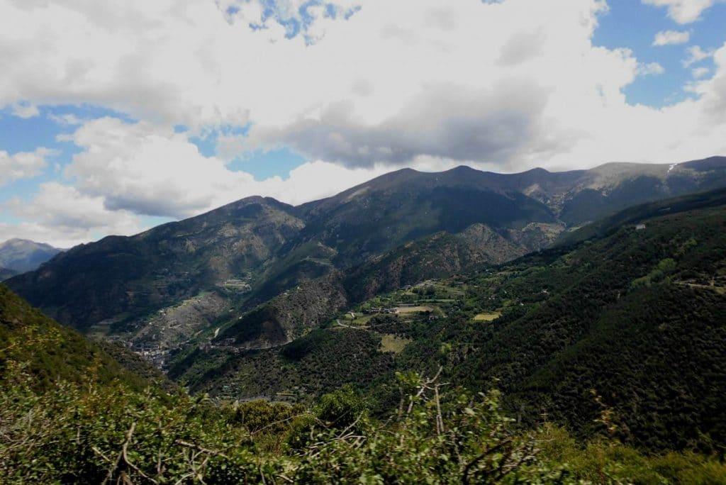paysage de montagne - Andorre