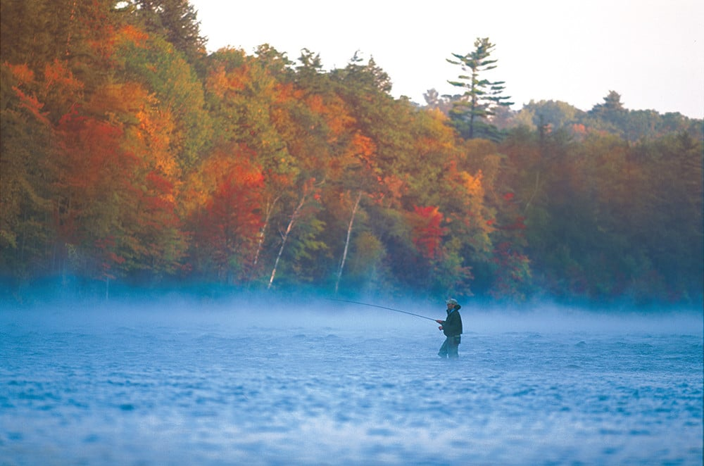 Fishing in the Fall, Maine