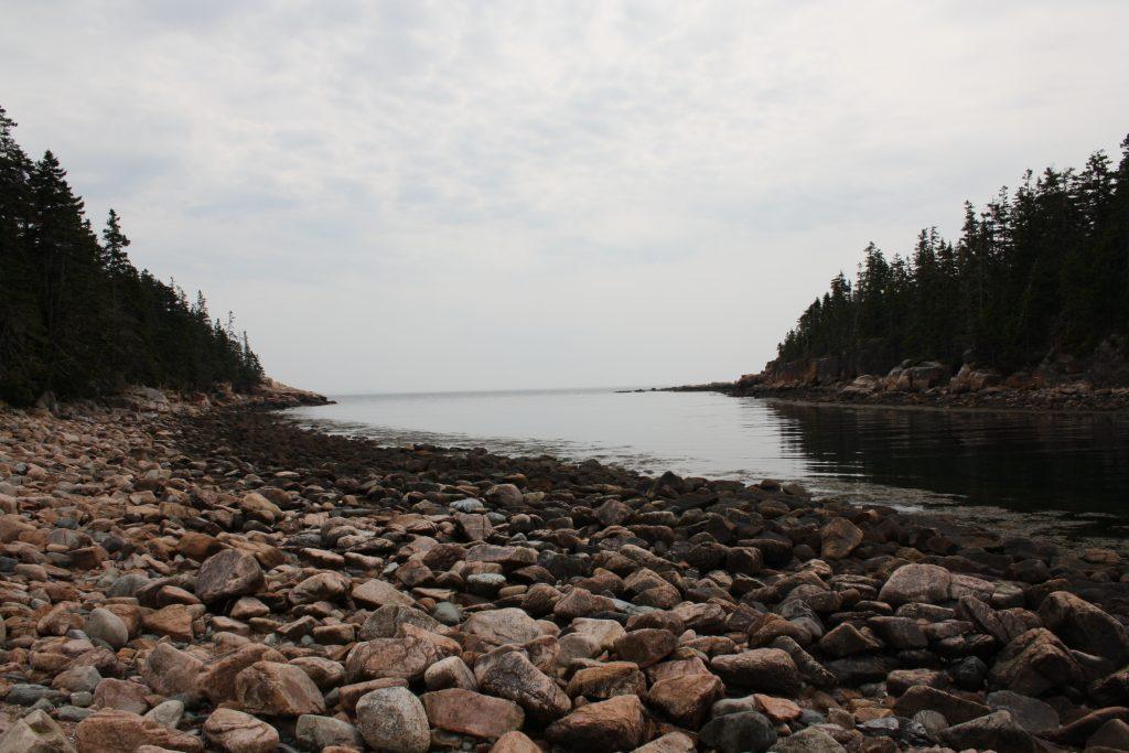 Plage dans l Acadia National Park