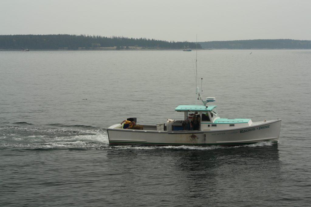 Bateau de pêche à Bar Harbor
