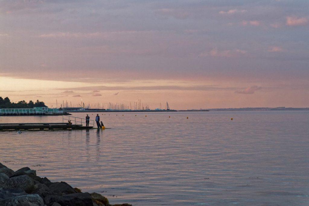 La mer à Charlottenlund