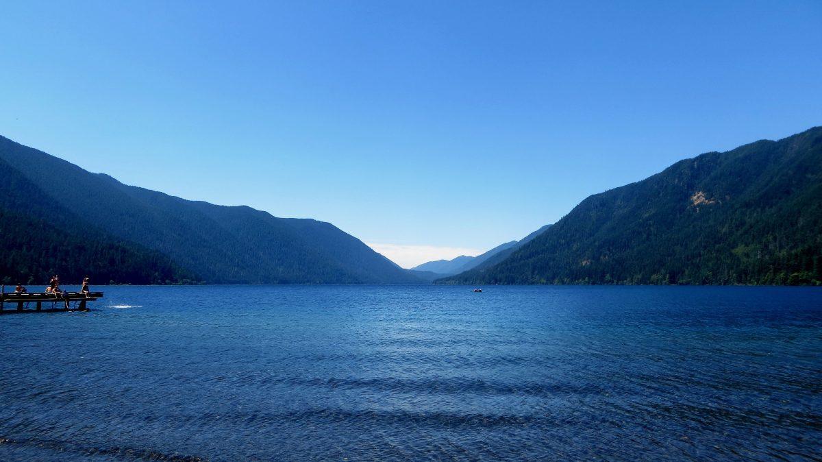 Diamond Lake dans le Wahington