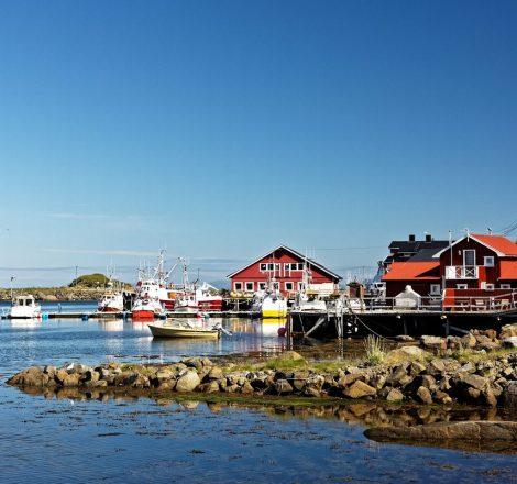 Port de Stø en Norvège