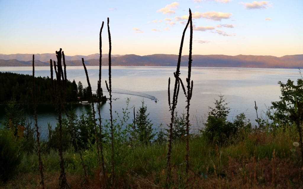 © Delphine & JP, Lost In USA, Flathead Lake