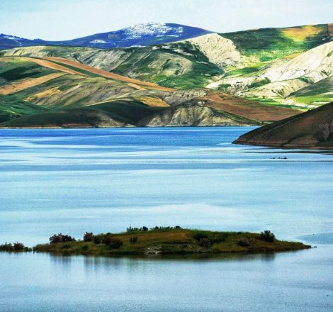 Pêche au Maroc sur un barrage