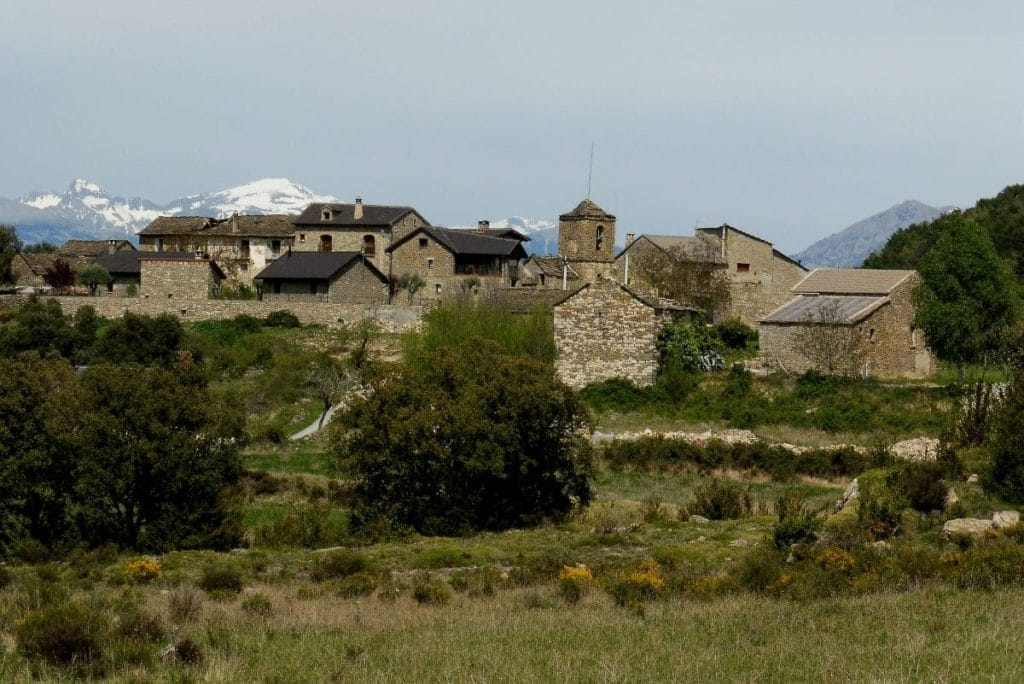 village aragonais