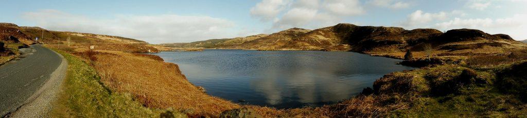 les lochs Mishnish sur l'île de Mull