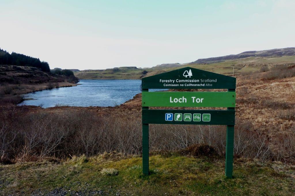 Loch Tor sur l'île de Mull