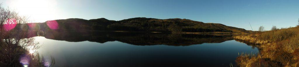 vue panoramique du Loch Mishnish