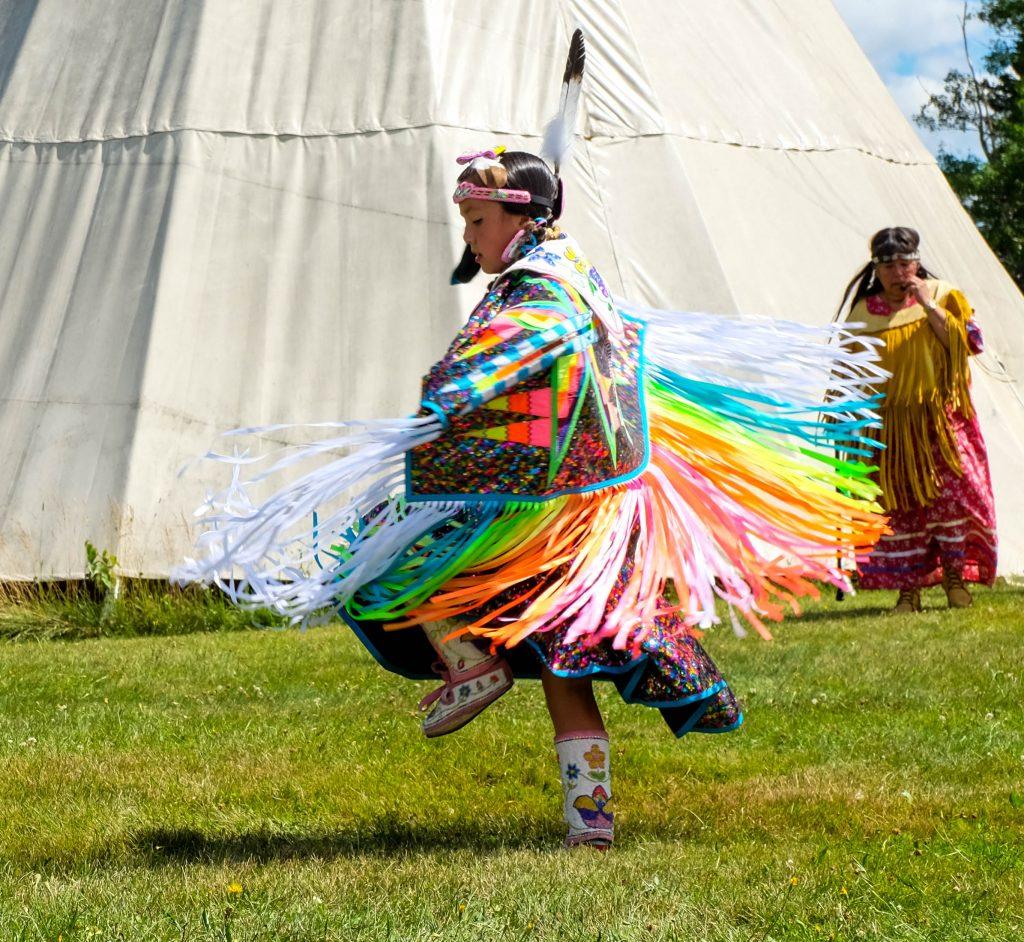 Amérindiens dans le Parc national Kouchibouguac