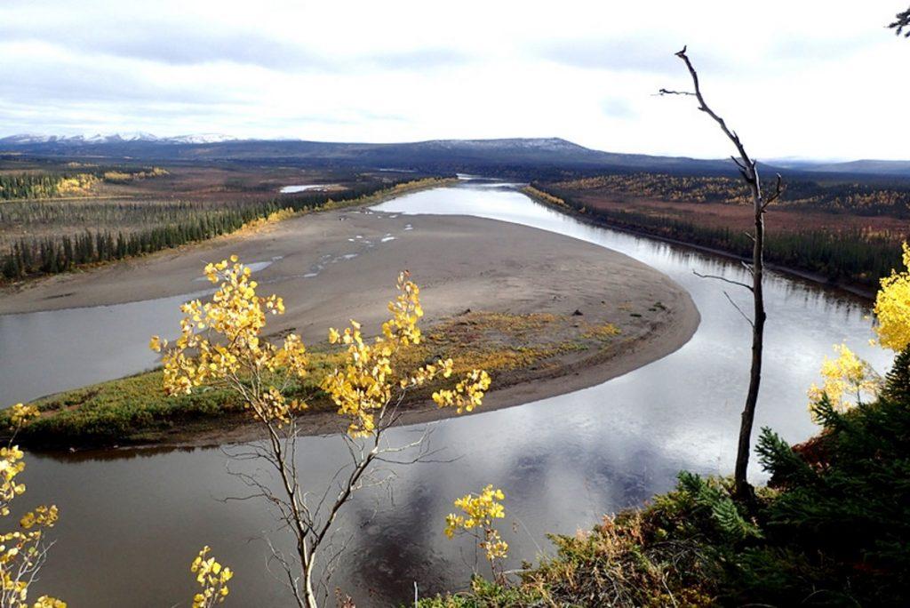 la rivière porcupine