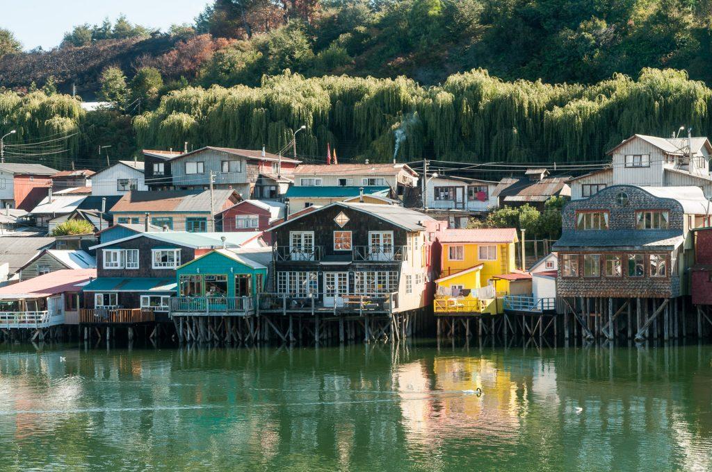 maisons sur pilotis île de Chiloé