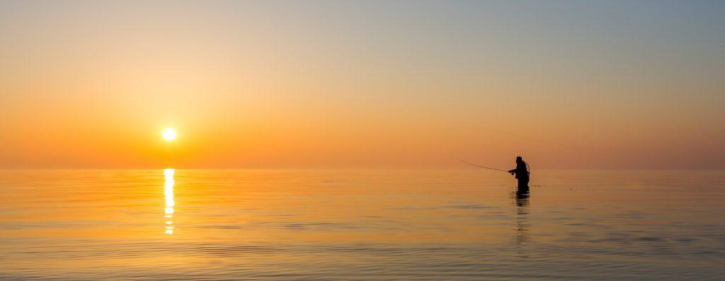 Pêche à la mouche au Danemark, vers Hornbæk
