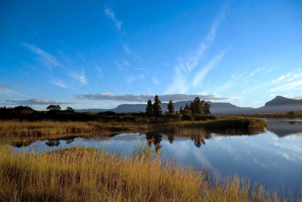 peche dans le Drakensberg en Afrique du Sud