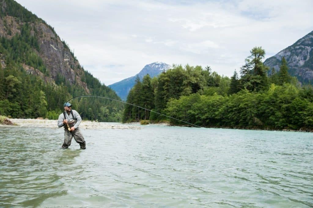 Pêche au nord de la Colombie Britannique