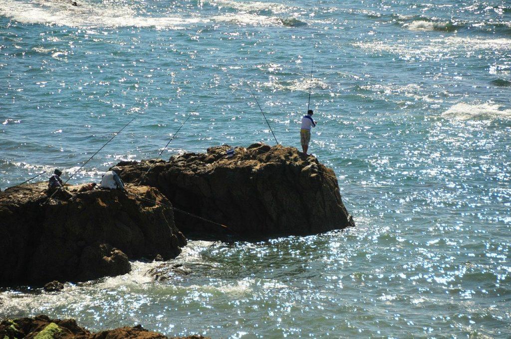 Pêche en mer au Maroc