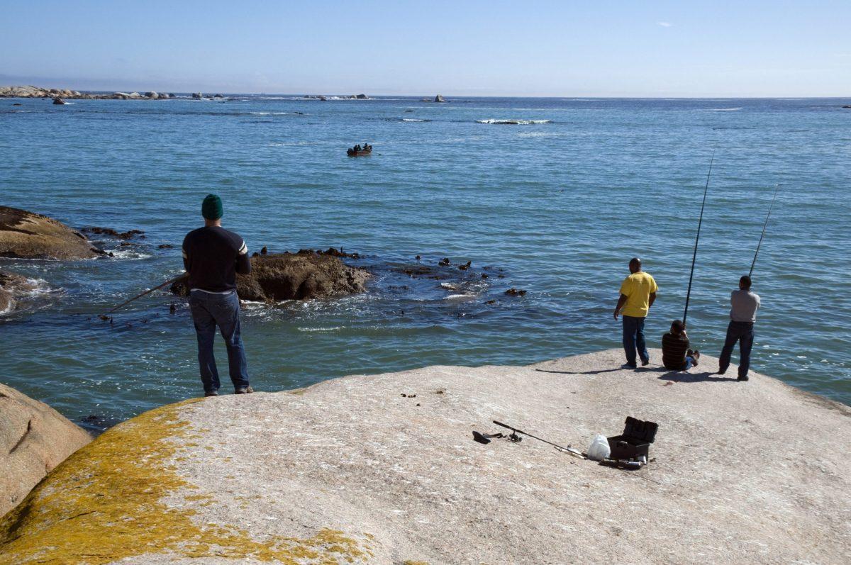 Pêche en mer en Afrique du Sud