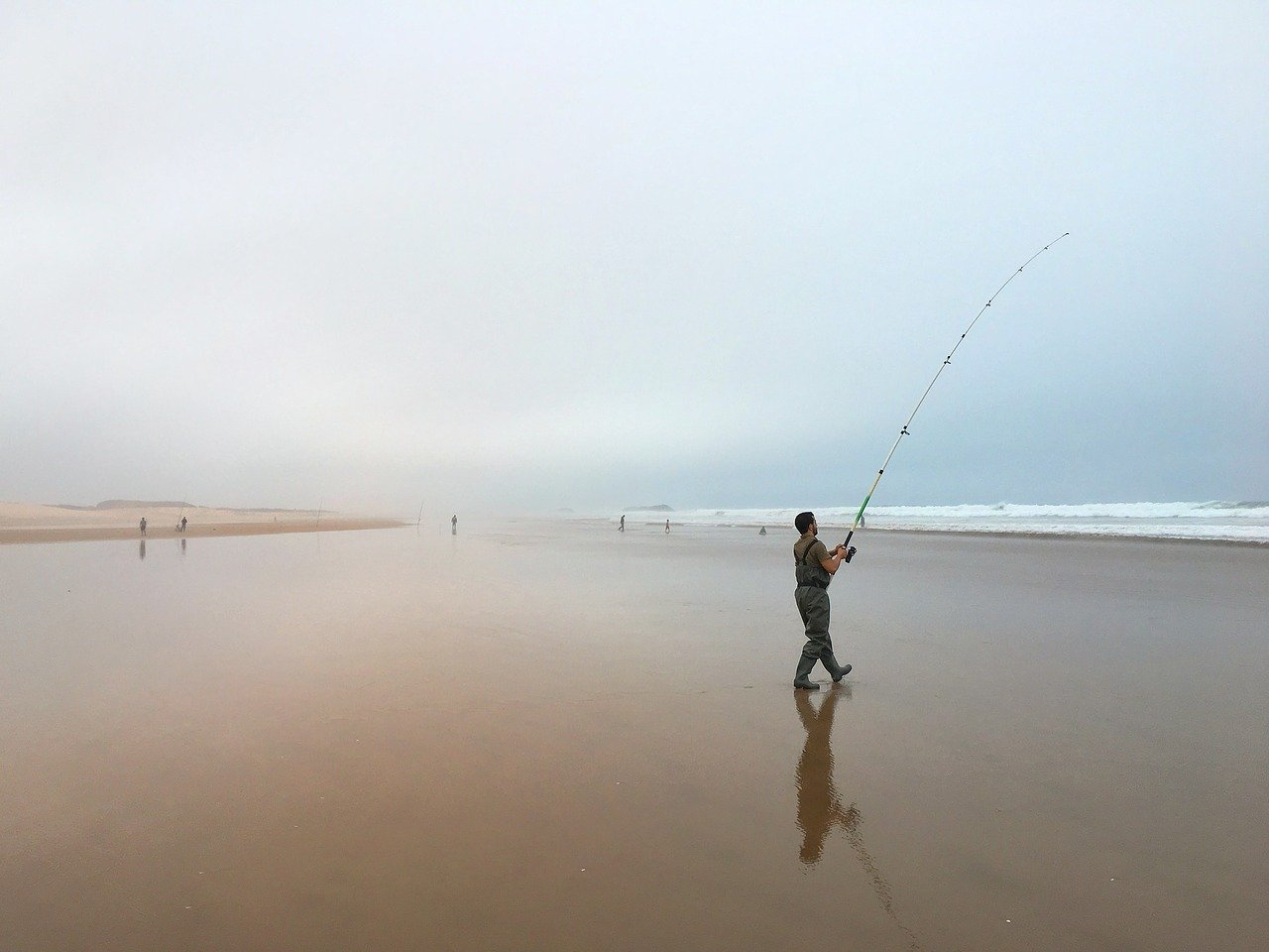 Pêche en surfcasting au Maroc