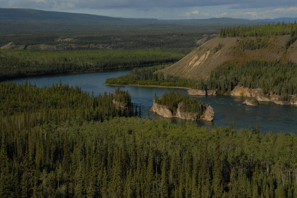 Rivière Yukon, Five Finger Rapids