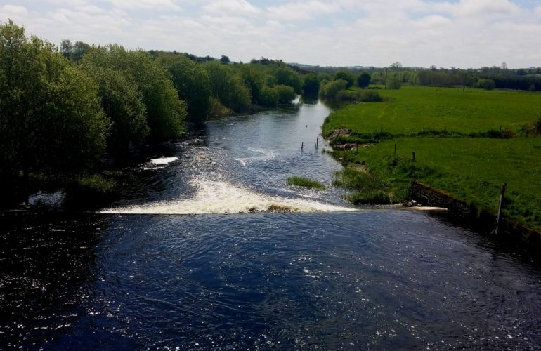 La rivière Boyne, en Irlande