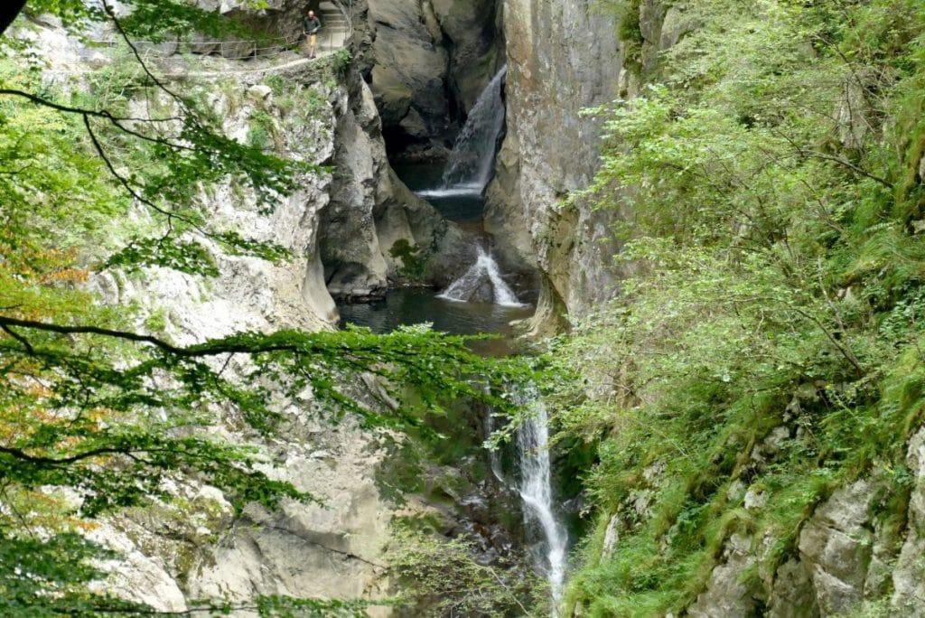 La Reka sur le site de Škocjan en Slovénie