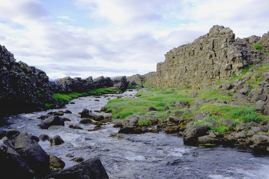 Pêche sur une rivière sauvage d'Islande