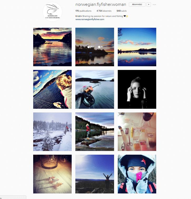 Galerie Instagram de Kristin - Norvegian FlyFisher