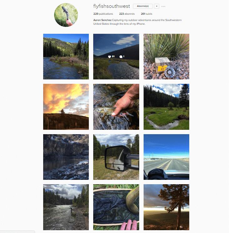 Galerie Instagram de Aaron Sanchez