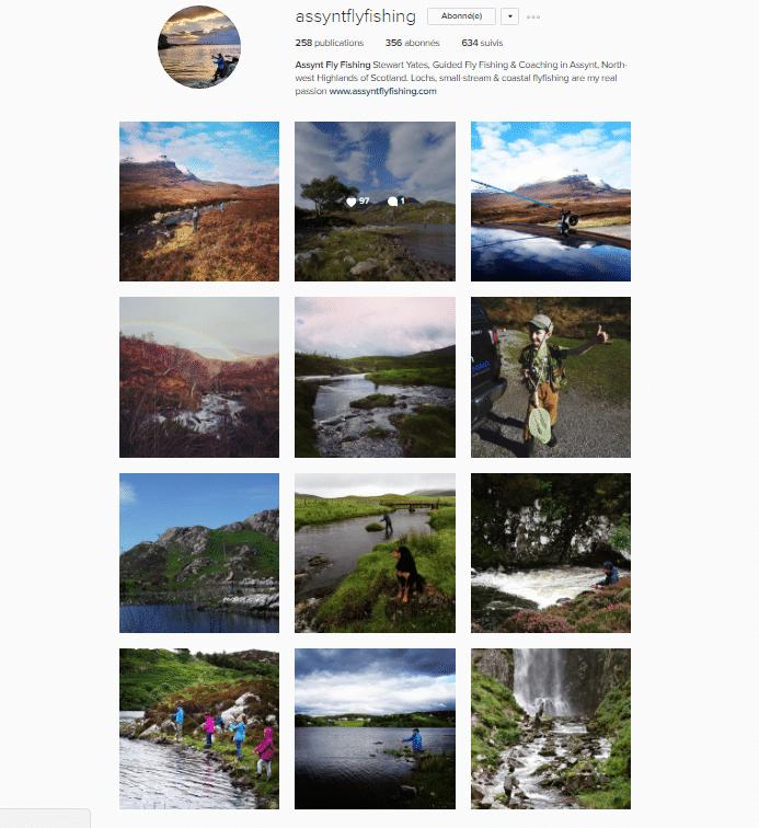 Galerie Instagram de Assynt Fly Fishing