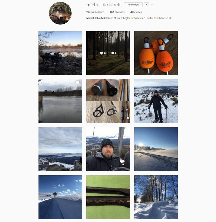 Galerie instagram de Michal Jakoubek