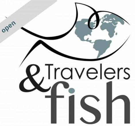 logo travelers & fish