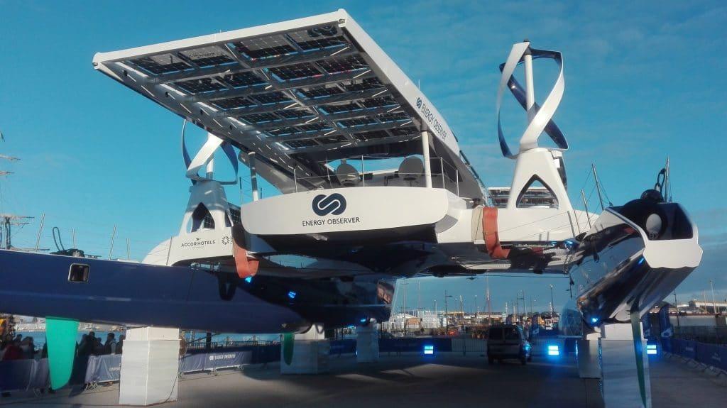 bateau l'Energy Observer