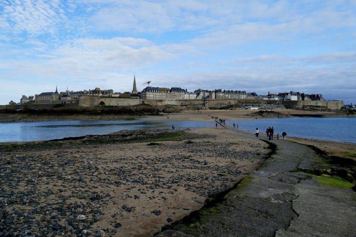 Vue de Saint-Malo