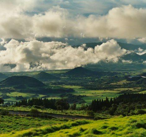paysage à la Réunion
