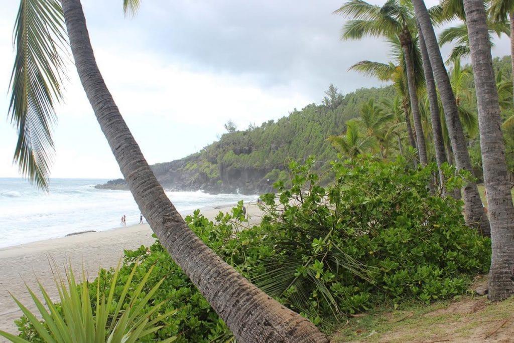 Bord de mer à la Réunion