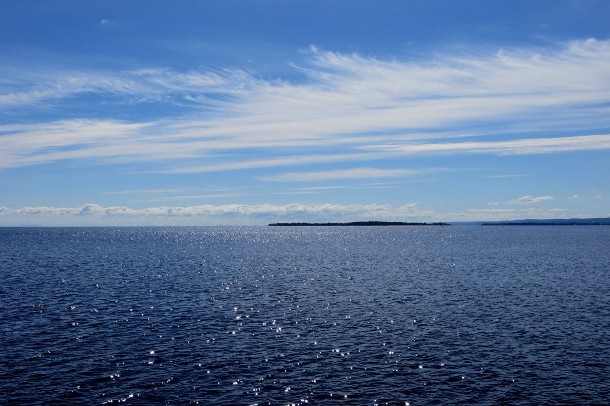 Le lac Saint-Jean - Québec