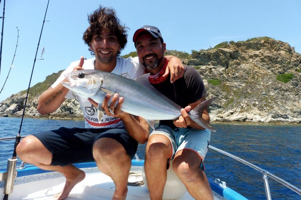 pêcheur dans les eaux d'Hyères