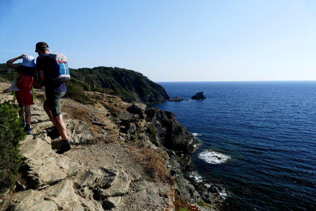 sentier du littoral sur la presqu'île de giens