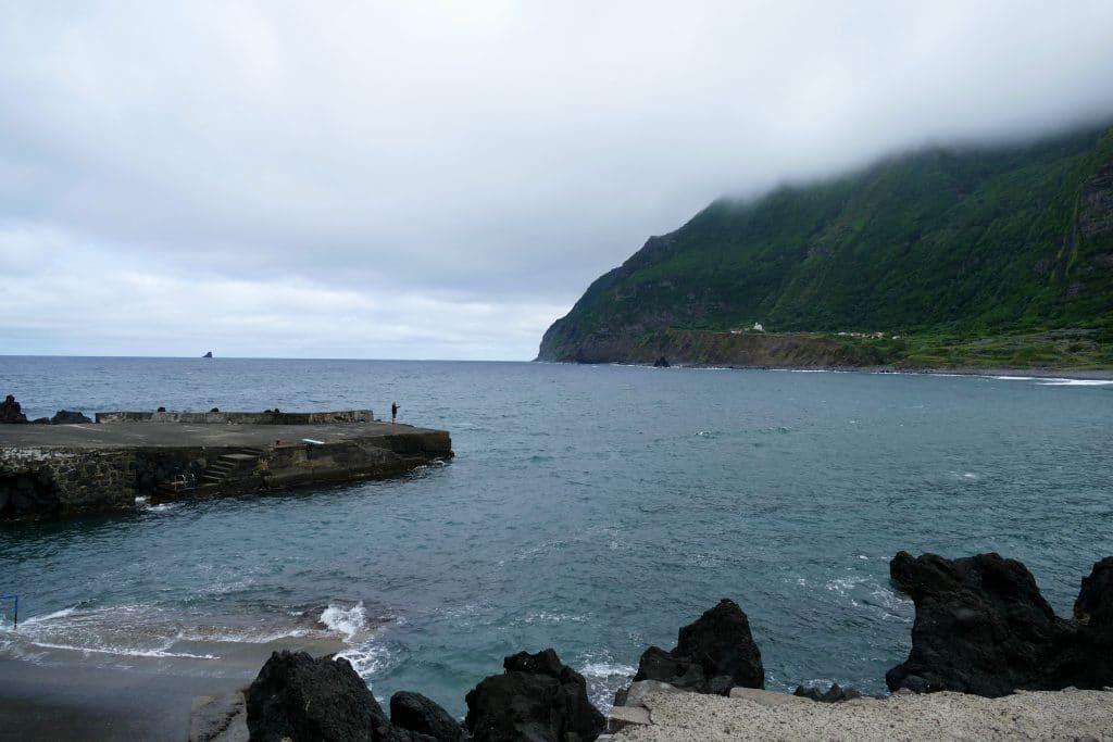 Port de Faja Grande sur Flores (Açores)