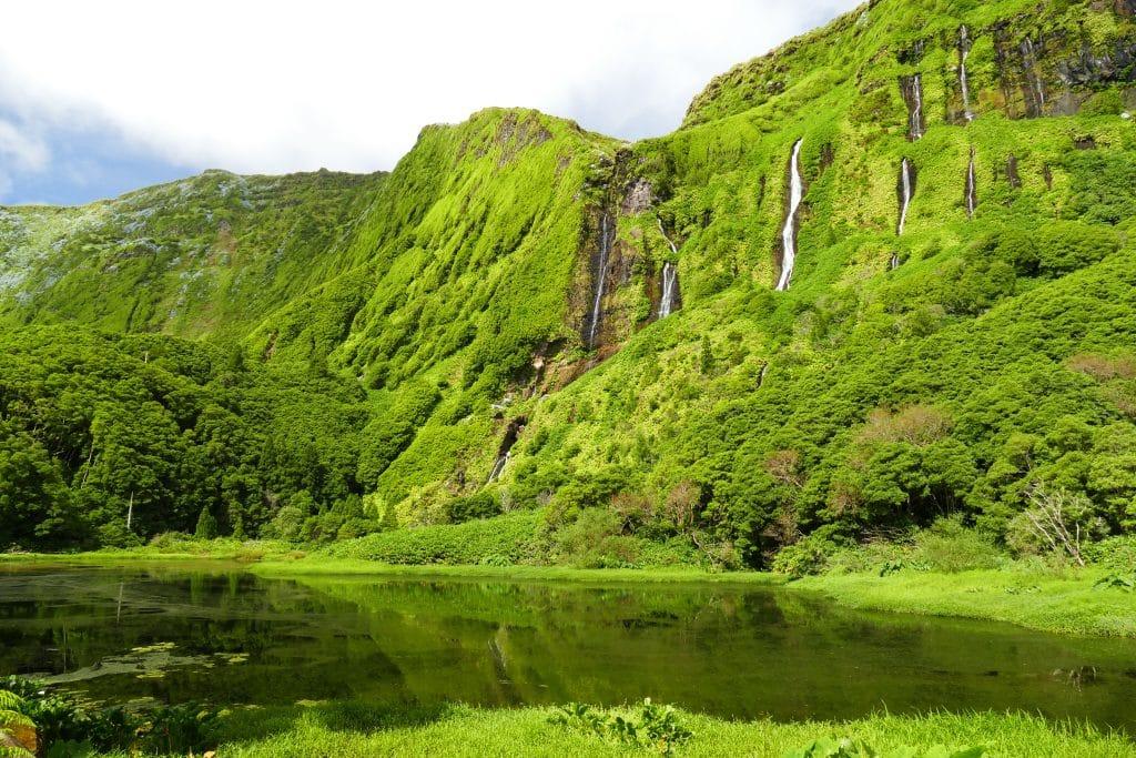 Cascades sur Flores (Açores)