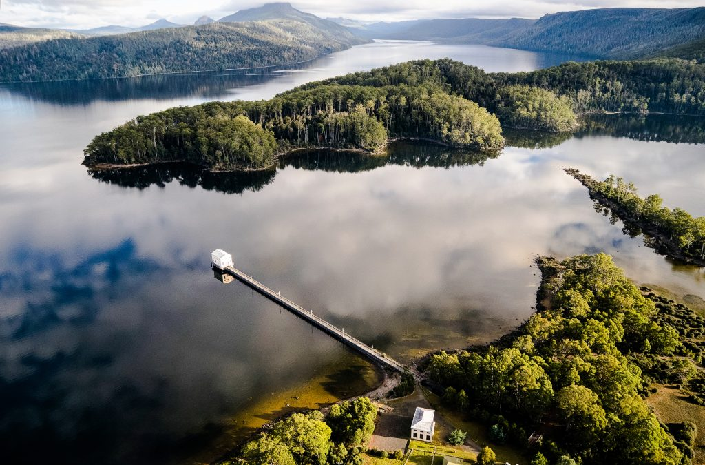 Pumphouse Point, crédit © Tourism Tasmania & Stu Gibson