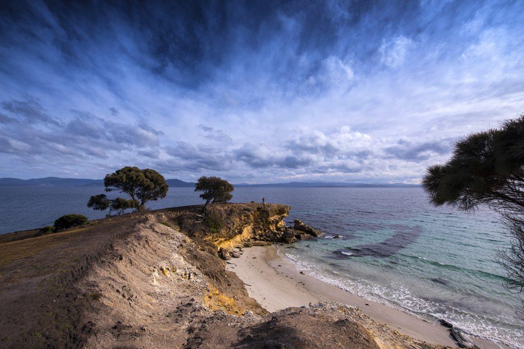 Howells Point, Maria Island - crédit ©Tourism Tasmania and Rob Burnett