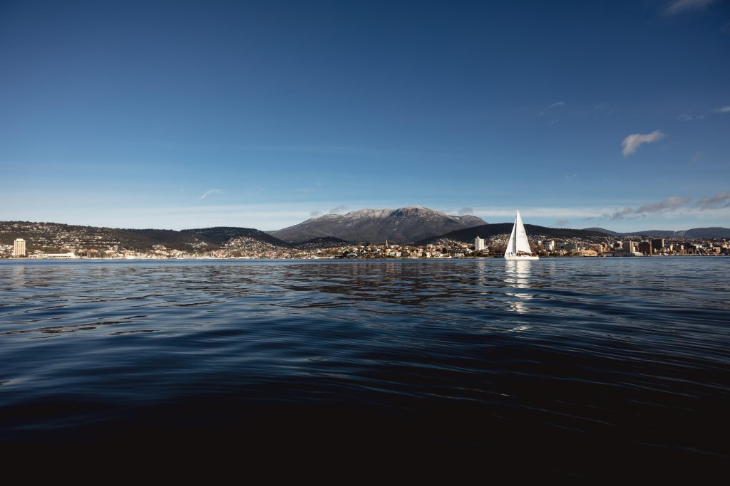 Sailing on the River Derwent, crédit © Samuel Shelley
