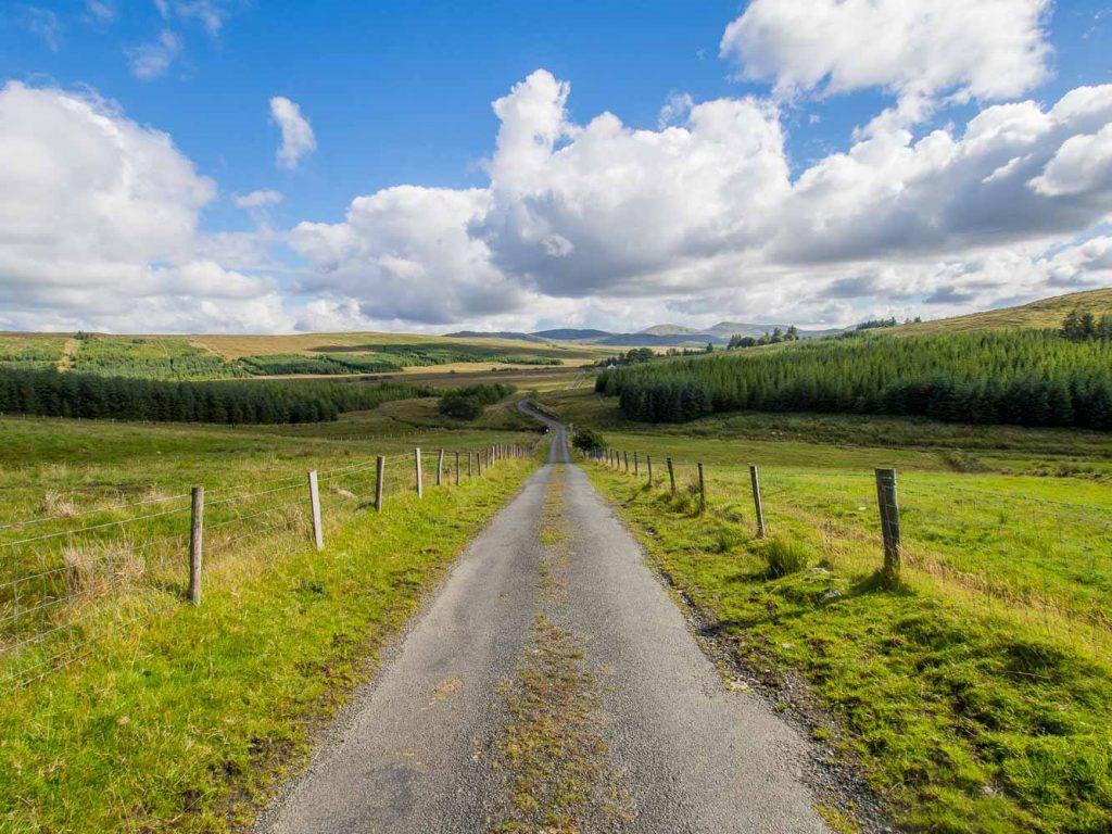 Route dans le Donegal