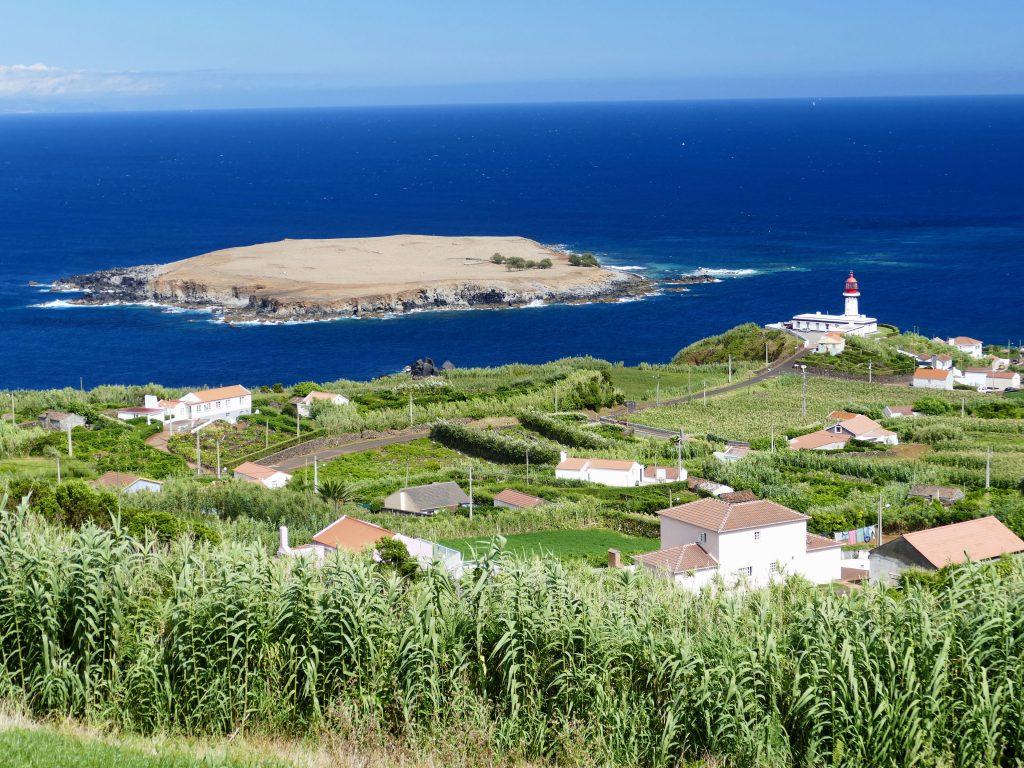 Le village de Topo sur Sao Jorge - Açores